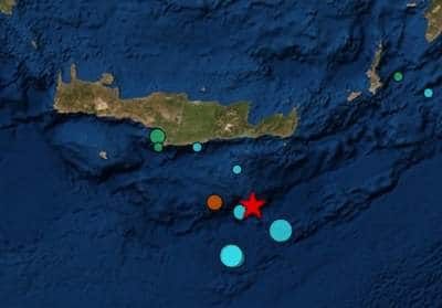 Τον περίμενε όλη η Ελλάδα: Σεισμός 6.6 ρίχτερ χτύπησε την Κρήτη