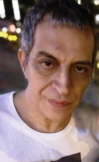 Θέμης Αδαμαντίδης σήμερα.Ο χρόνος άφησε τα σημάδια του.