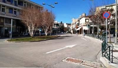 Πόλη φάντασμα η Κοζάνη: Έρημοι δρόμοι και κλειστά μαγαζιά (βίντεο)