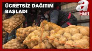 Τουρκία: Μοιράζουν πατάτες με εντολή Ερντογάν - Σκηνές πανικού (Βίντεο)